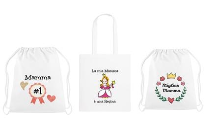 Borse e zainetti per la festa della mamma disponibili in vari modelli