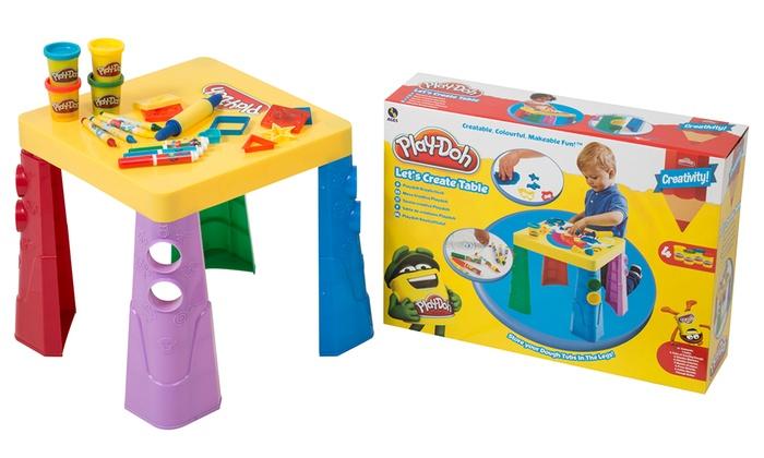 Play-Doh Lets Create Table/Paints ...  sc 1 st  Groupon & Play-Doh Lets Create Table/Paints | Groupon Goods