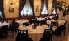 Ristorante Vesuvio - RISTORANTE VESUVIO: Menu di pesce di 4 portate con sorbetto e calice di vino al Ristorante Vesuvio (sconto fino a 68%)