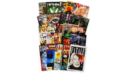 Shop Groupon Comic Book Bundle With 25 Independent Comics