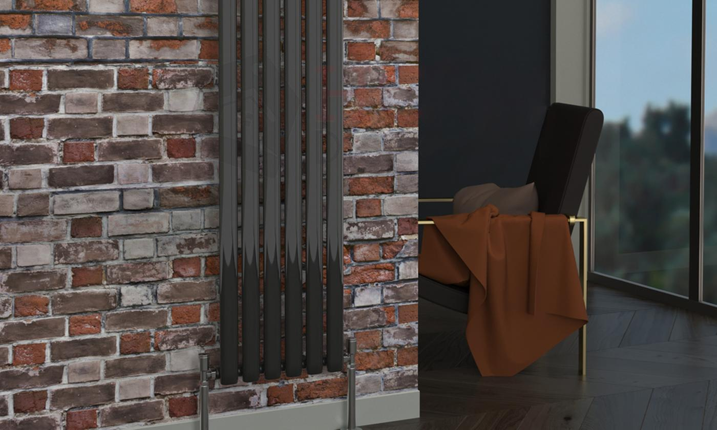 Oval or Flat Shaped Vertical Radiators With Free Delivery