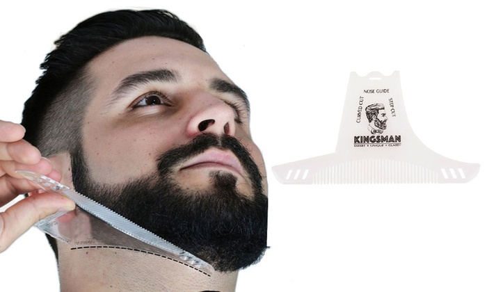 8-in-1 Beard Grooming, Shaping, Combing, and Trimming
