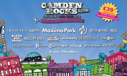 image for Camden Rocks Festival 2018, Maximo Park, Twin Atlantic and British Sea Power, 2 June at The World's End (No Booking Fee)
