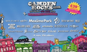 Camden Rocks Festival 2018: Camden Rocks Festival 2018, Maximo Park, Twin Atlantic and British Sea Power, 2 June at The World's End (No Booking Fee)