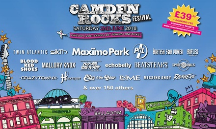 Camden Rocks Festival 2018, Maximo Park, Twin Atlantic and British Sea Power, 2 June at The World's End (No Booking Fee)