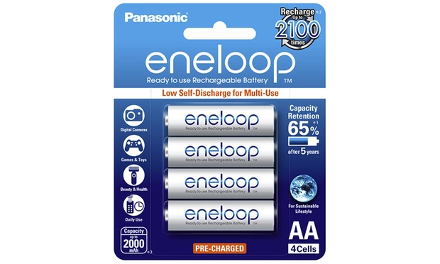 From $27.95 for an Eight Pack Panasonic Eneloop AA or AAA Rechargeable Batteries (Dont Pay up to $111.8)