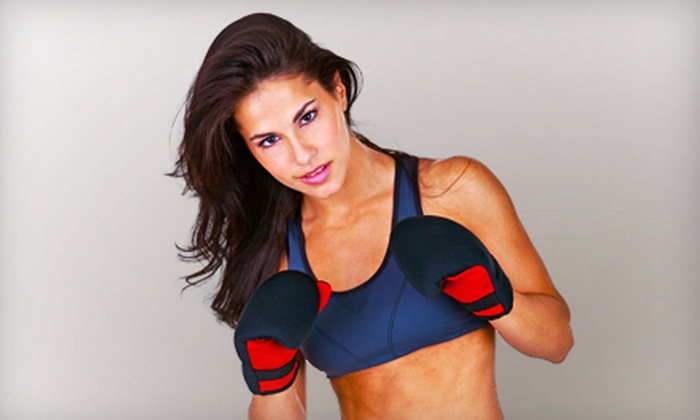 Punch Fitness - Westerville: 10 or 20 Boxing Fitness Classes or Three Months of Unlimited Boxing Fitness Classes at Punch Fitness (Up to 62% Off)