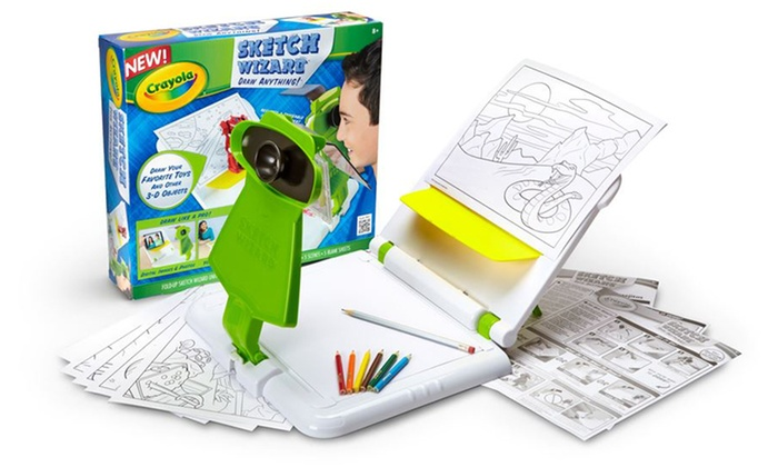 Crayola Sketch Wizard Groupon