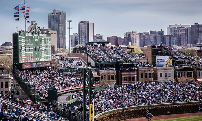 Wrigley View Rooftop - Wrigley View Rooftop: Chicago Cubs Game with Food and Drinks at Wrigley View Rooftop (Up to 48% Off). 10 Games Available.