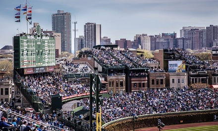 Chicago Cubs Game with Food and Drinks at Wrigley View Rooftop (Up to 48% Off). 10 Games Available.