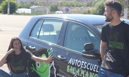 Curso para obtener el permiso B con 5 u 8 prácticas desde 29,99 € en Autoescuela Salamanca