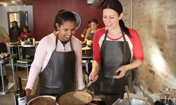Flip Crepes - West Town: Gluten-Free and Vegan Crepe-Cooking Class for One or Two at Flip Crepes (59% Off)