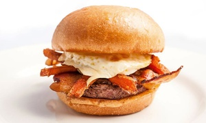 Ketchup Premium Burger Bar: $12 for $20 Worth of Burgers, Hot Dogs, and Sides for Two or More at Ketchup Premium Burger Bar