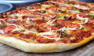 Brewbakers: Beer and Pizza for Two or Four at Brewbakers (Up to 36% Off). Four Options Available.