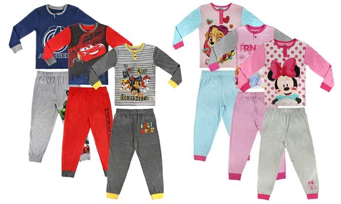tienda de liquidación 50cb2 97f42 Pijama para niños Disney y Marvel   Groupon Goods