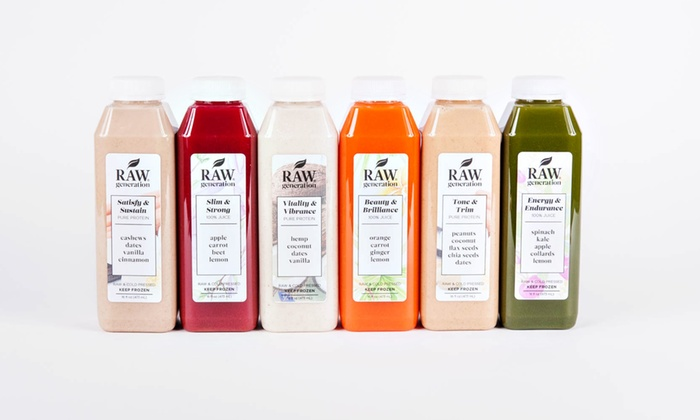Raw Generation: Three-Day Protein Cleanse from Raw Generation (65% Off)