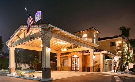 Stay at Best Western Plus Otay Valley in Chula Vista, CA. Dates into March.