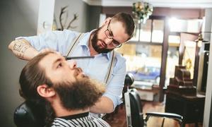 Barber Shop Old Mountain: Męskie cięcie: strzyżenie brody (19,99 zł) lub włosów (24,99 zł) i więcej w Barber Shop Old Mountain w Bielsku-Bialej
