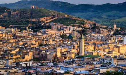 ✈Fez: 3 noches para 1 con desayuno y vuelo de I/V desde Madrid o Barcelona en Hotel Zahrat al Jabal