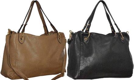 Sara Handtasche in Schwarz oder Camel
