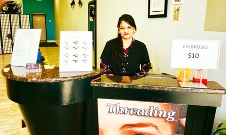 Two or Three Eyebrow Threading Sessions at Unique Eyebrows (Up to 37% Off)
