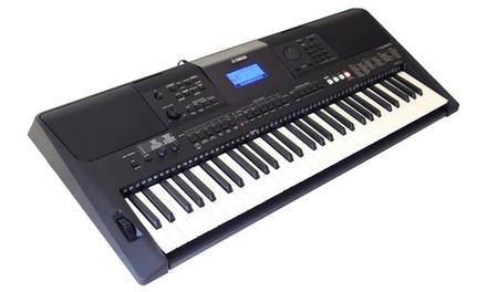 Yamaha Psr E453 61 Key Touch Response Keyboard Groupon
