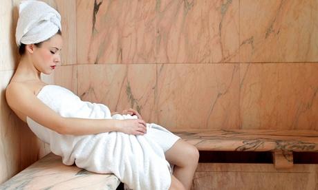 Circuito spa para dos con opción a masaje y peeling de espalda desde 29,95 € en Ges Spa O2