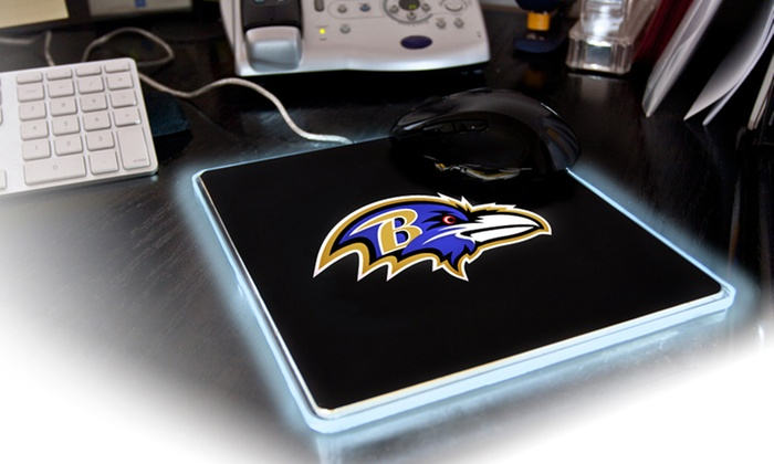 NFL LED Mouse Pad: NFL LED Mouse Pad. Multiple Teams Available.