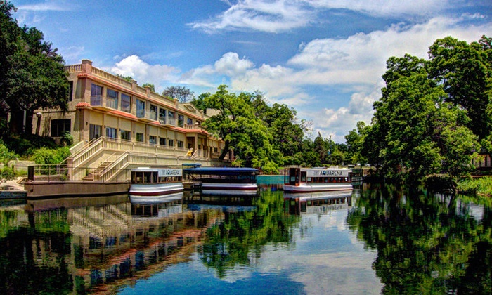 The Meadows Center - San Marcos: Glass-Bottomed-Boat Tour for Two, Four, or Six at The Meadows Center (Up to 47% Off)
