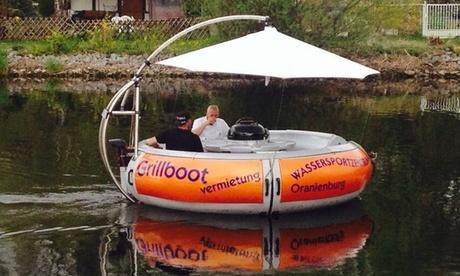 4 Std. Grill-Bootsmiete mit Grillset für bis zu 10 Pers. im Wassersportzentrum Oranienburg in Ruhrgebiet