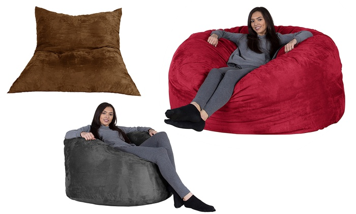 Pillow, Giant or XXL Memory Foam Beanbag from £79.99 With Free Delivery
