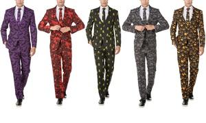 Braveman Men's Halloween Classic Fit Suits