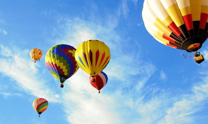 Soaring Adventures of America, Inc.  - Madison: Flight Ticket for Hot-Air Balloon Ride for One or Two from Soaring Adventures of America, Inc. (Up to 14% Off)