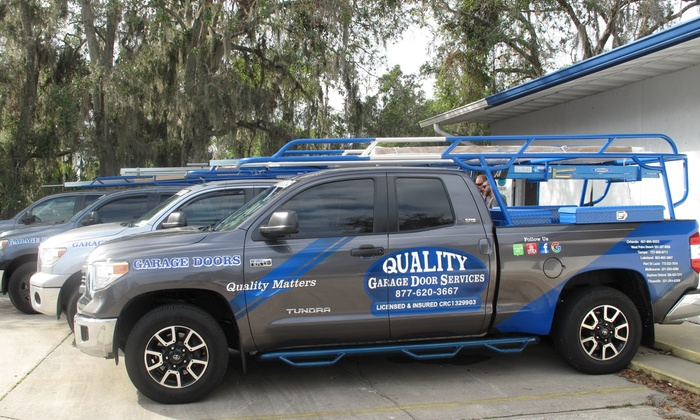 Quality Garage Door Services Up To 84 Off Orlando Groupon