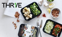 $100 or $160 Food Credit to spend on Healthy Ready Meals from THR1VE (Up to $209 Value)