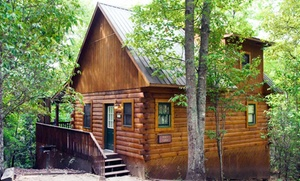 2- Or 3-night Stay At Mountain Vista Log Cabins In Bryson City, Nc