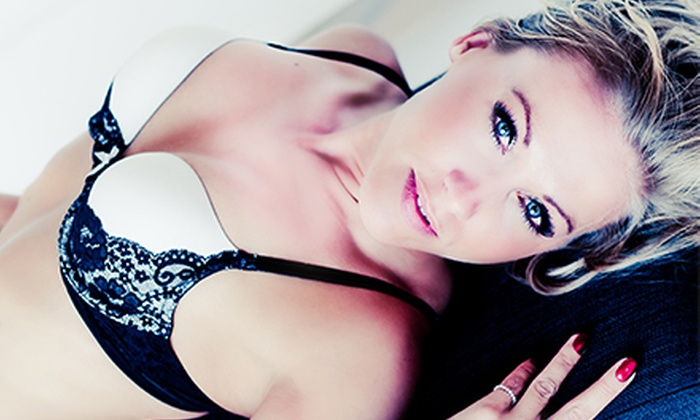 Jessica Fleming Photography - Minneapolis: Boudoir Photo-Shoot Package with Champagne and Option for Hair and Makeup at Jessica Fleming Photography (Up to 72% Off)