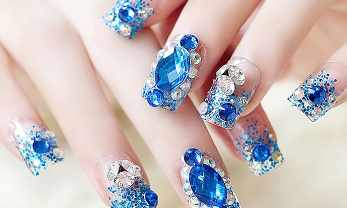 Trend Matters Diy Crystal Nail Art Decorations 2 Pack Groupon