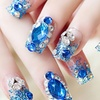 Trend Matters DIY Crystal Nail Art Decorations (2-Pack)
