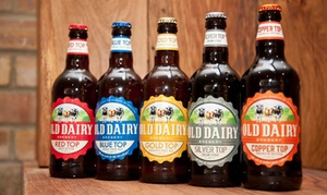 Old Dairy Brewery: Brewery Tour and Beer Tasting for Two at Old Dairy Brewery (55% Off)