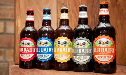 Brewery Tour and Beer Tasting for Two or Four at Old Dairy Brewery