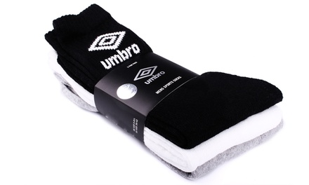 Pack de 15 pares de calcetines Umbro