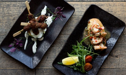 TwoCourse Dinner with Wine or Beer for Up to Four at A La Turka
