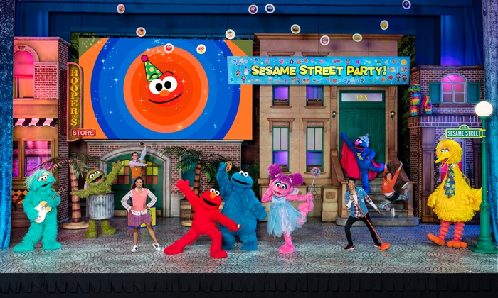 Sesame street live sesame street live let 39 s party - Sesame street madison square garden ...