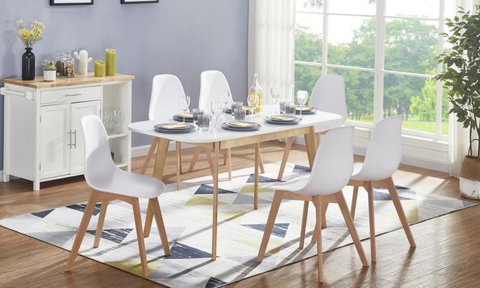 Extensible Chaise Extensible Table Table De De Chaise CuisineGroupon De CuisineGroupon Chaise Table Extensible iZXkPu