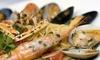Farina del Nostro Sacco - cervia: Menu di pesce di 5 portate con vino per 2 o 4 persone da Farina del Nostro Sacco a Cervia (sconto fino a 70%)