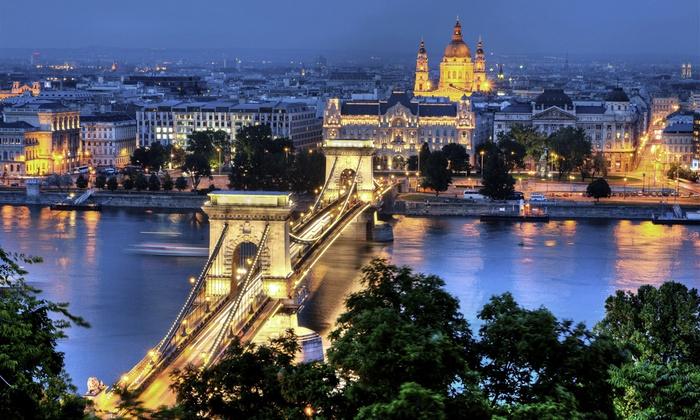 Budapest  1 à 4 nuit(s) avec accès bienêtre et petits djeuners croisière en option au BO18 Hotel pour 2