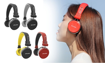 Awei A700BL Fashion and Sports Bluetooth Stereo Headphones: One $29.95 or Two Pairs $54.95