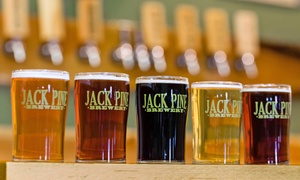 Jack Pine Brewery: Brewery Packages for One, Two, or Four People at Jack Pine Brewery (Up to 51% Off)