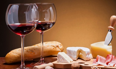 Cheese and Wine, Ale or Cider Pairing for Two or Four at The Queens Hotel